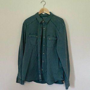 Men's Lucky Brand Western Shirt Size XXL